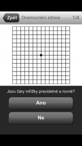 Test zraku   aplikace