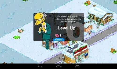 The Simpsons android hra