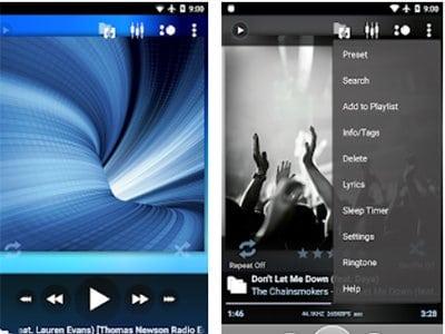 Poweramp Music Player android aplikace