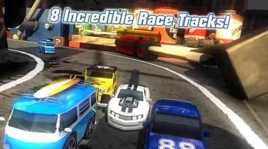 Table Top Racing hra