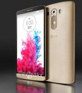 LG G3 - zlatý