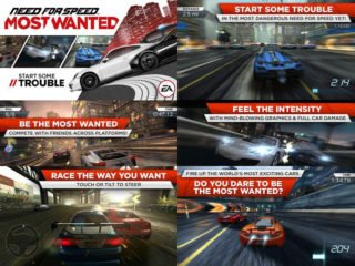 NFS Most Wanted 2012 для Android