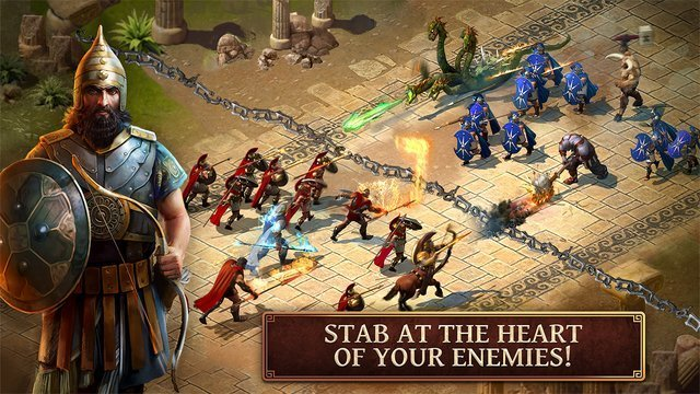 ageofsparta - hry na android