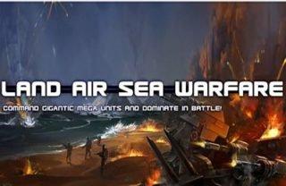 Android hra Land Air Sea Warfare