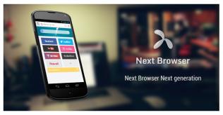 Download Next Browser app