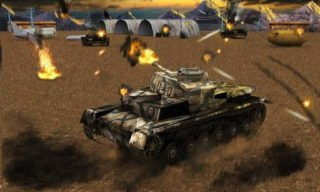 Tank Strike Battle 3D android hra