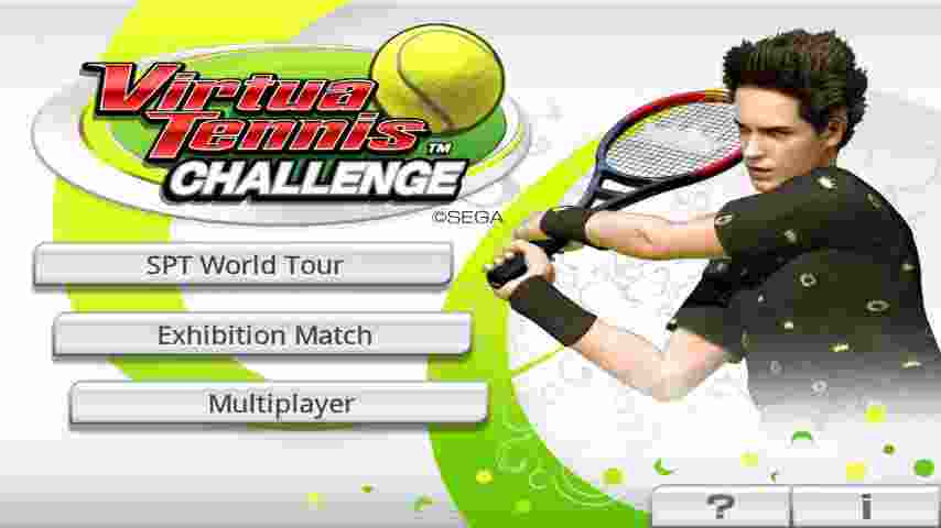 Virtual Tennis Challenge android hra