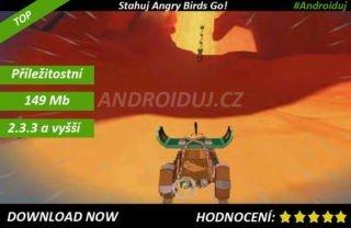 Zahraj si Angry Birds Go! - ke stažení teď android