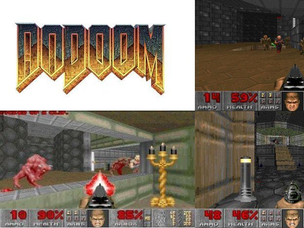 Doom 1 on mobile downloads