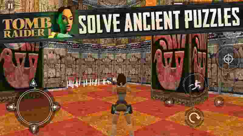 Tomb Raider 1 android hra