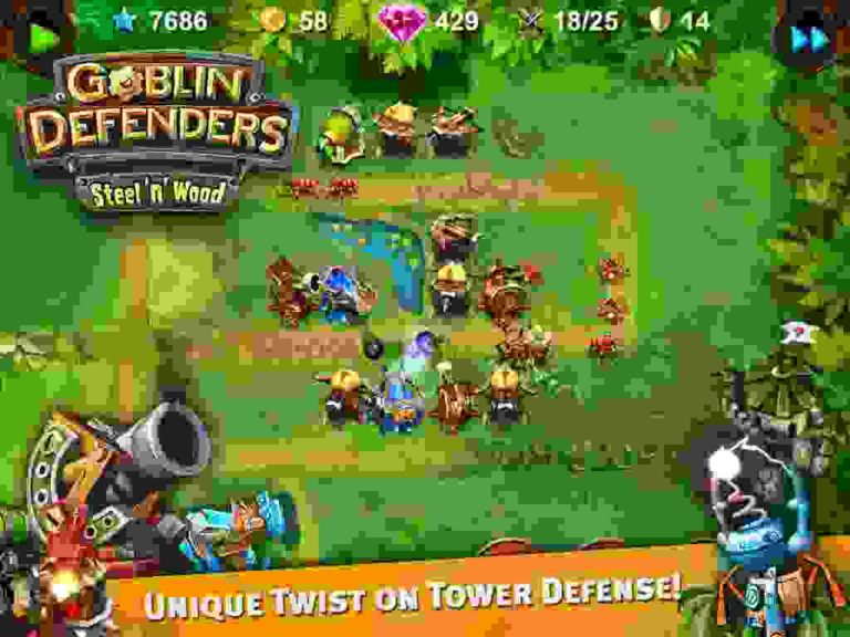 Goblin Defenders 2 android hra