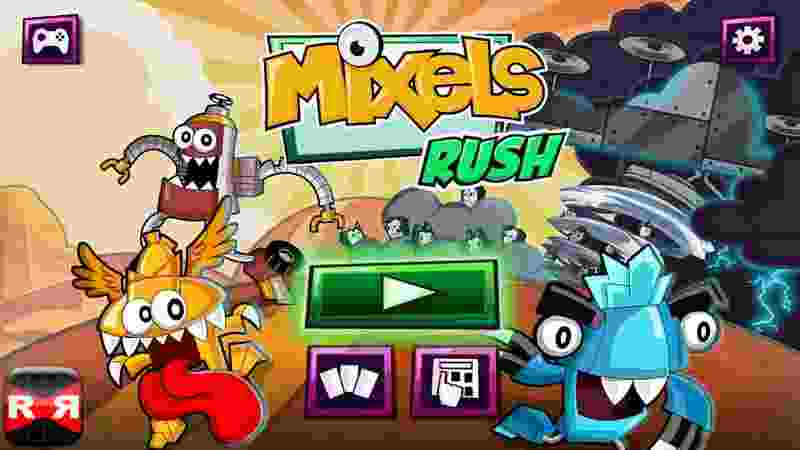 Mixels Rush - android hry, games, download