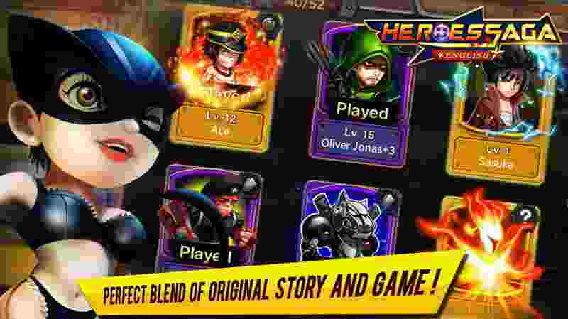 Heroes Saga - android hry, games