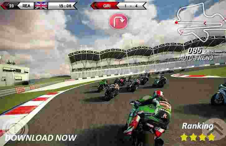 SBK15 - android hra ke stažení