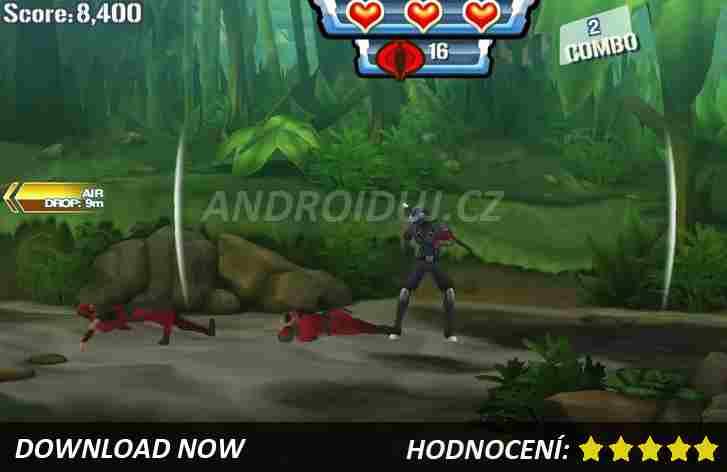G.I.Joe - android hra ke stažení