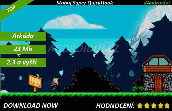 1 - Super QuickHook android game
