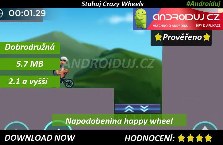 3 - Crazy Wheels - ke stažení android