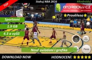1- NBA 2K16 ke stažení