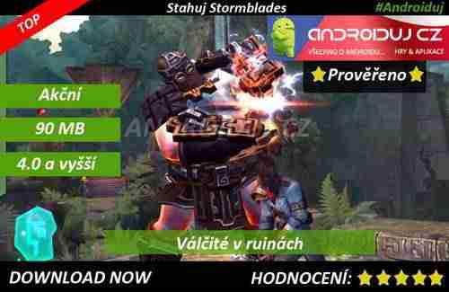 3- hra Stormblades ke stažení