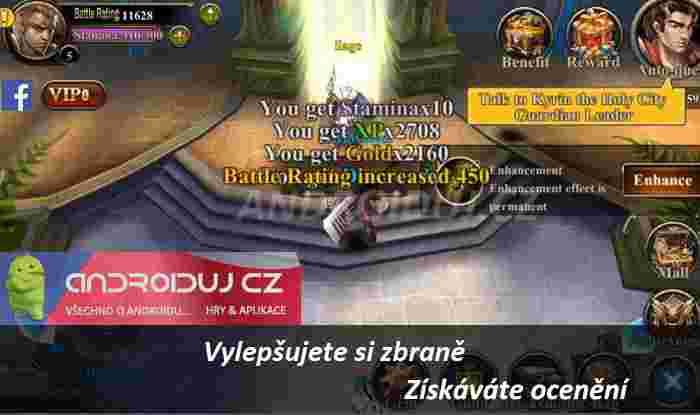 3 - Dark Ares ke stažení android hra
