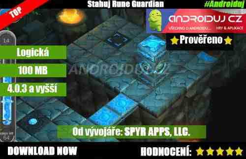 Mobilní hra   Rune Guardian  [10/10]   logicke hry hry