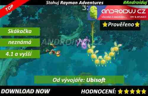 1 - Rayman adventures download
