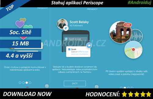 1 - Periscope app download