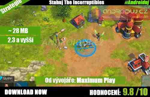 3- Android hra the Incorruptibles download
