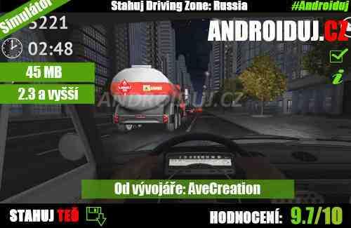 Driving Zone Russia ke stažení zdarma