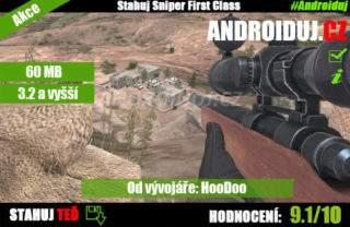 1 - Sniper First Class ke stažení zdarma