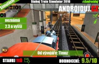 Train Simulátor 2016 ke stažení android na tablety i mobily