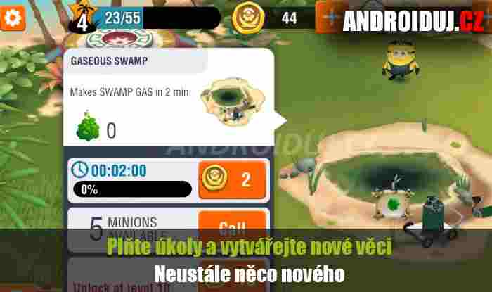 Minions Paradise android hra ke stažení