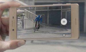 Sony Xperia X autofocus hybrid