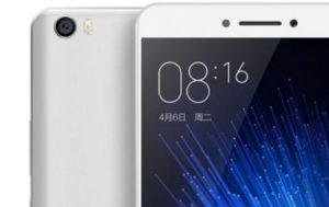 Xiaomi Mi max render