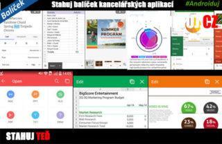 Nejlepší kancelářské aplikace pro Android   novinky aplikace