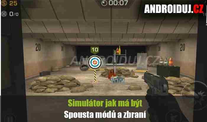 Range Shooter android hra ke stažení