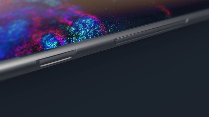 Oblé rohy u Galaxy S8 Edge