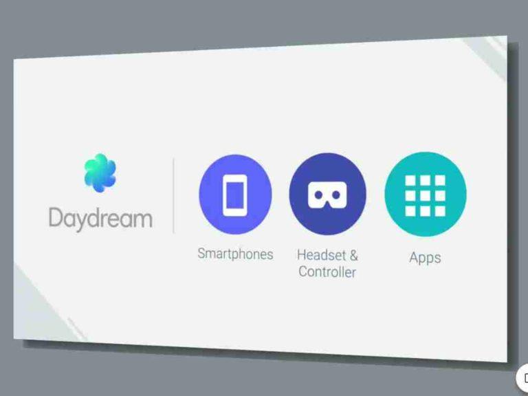 Daydream aplikace