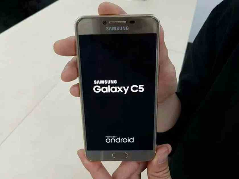 Galaxy C uniklá fotka