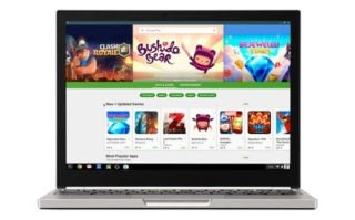 Chromebooks a Google Play