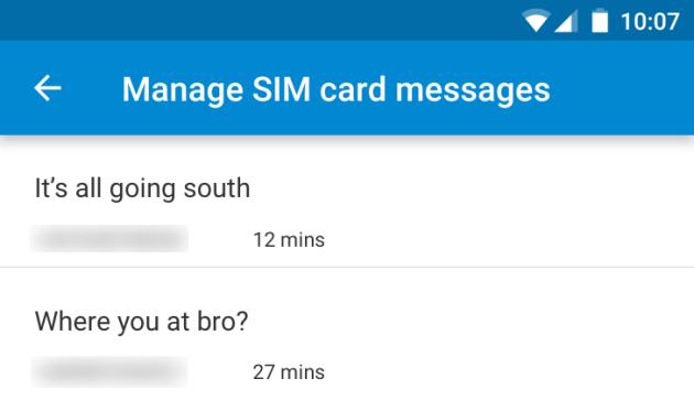 Google Messenger aktualizace