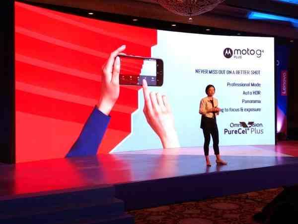 Moto G4 oznámení