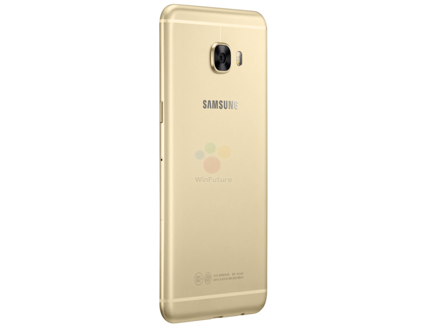 Samsung Galaxy C5 zadní strana