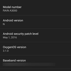 OnePlus 3 specifikace Android N