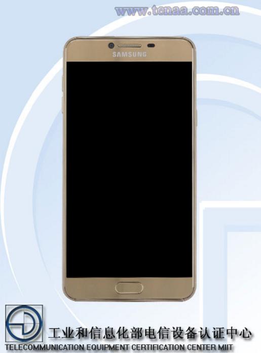 Samsung Galaxy C7 TENNA CERTIFIKACE