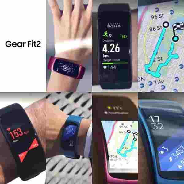 Další uniklé fotografie Samsung Gear Fit 2   novinky
