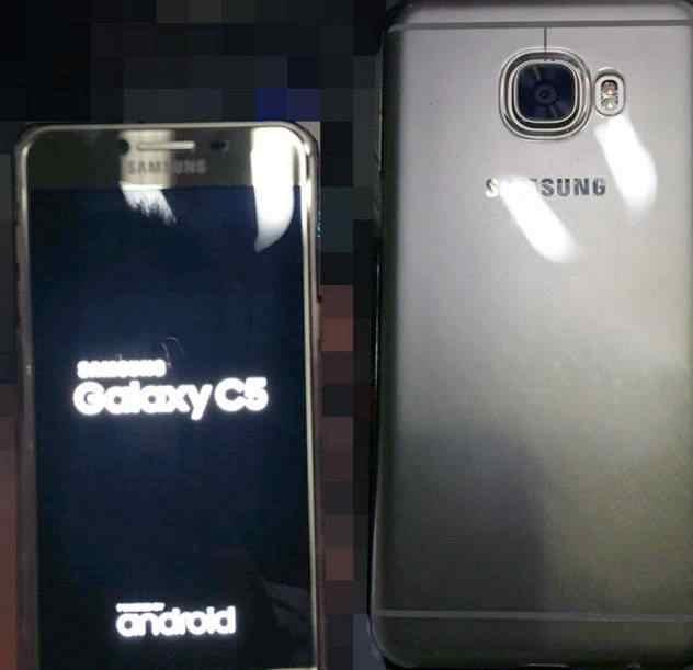 Předek Galaxy C5