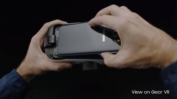 Možnost vložit do zařízení Samsung Gear VR