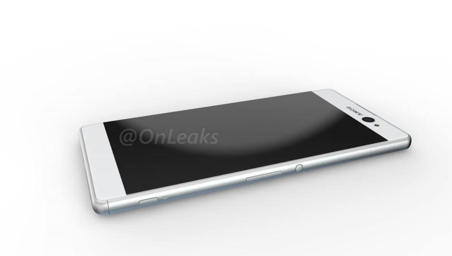 Sony Xperia  C6 Ultra - Render převzato z @OnLeaks