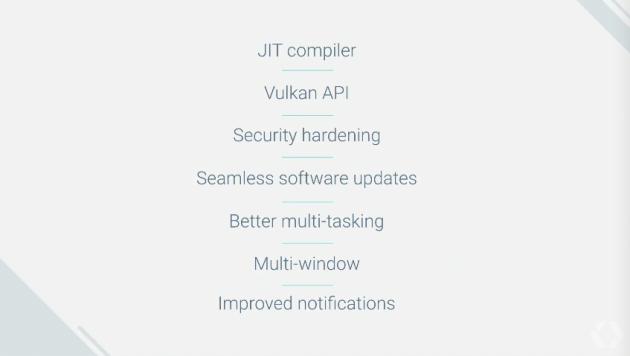 Android N důležité informace
